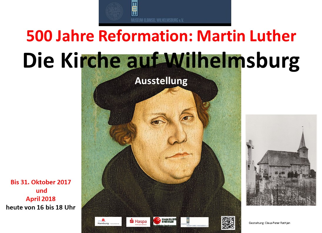 2018 Reformationausstellung bis Ende April 2018
